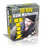 Thumbnail 30 Day Bum Marketing Blitz - Bonus Software